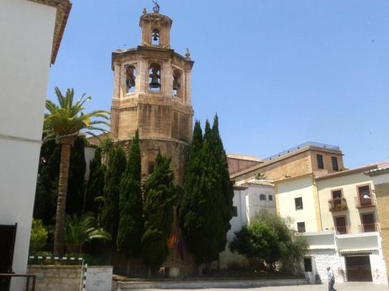 Patio del Colegio de San Andrés