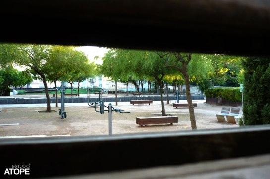 Parque del Cuarto Real desde C/ Paco Seco de Lucena